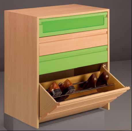 Proyecto estante junto a ropero t4 for Precio de zapateras de madera