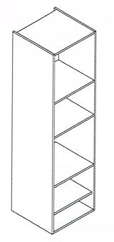 Modulo columna horno micro