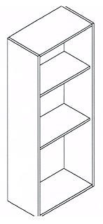 Modulo semi columna alto