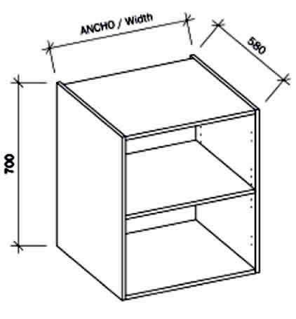 Muebles de cocina en Kit, Cascos de madera para cocina ...