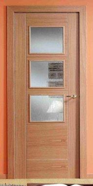 Puertas de madera puertas residenciales comprar venta - Puertas de interior con cristales ...