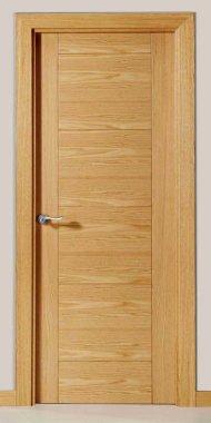 Puertas Lisas con lineas Mara Roble