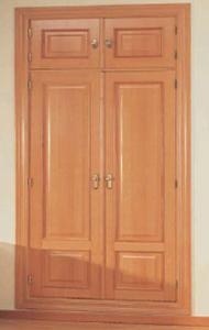 Puerta plafonada 302 atm roble