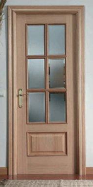 Puertas de madera puertas residenciales comprar venta for Precios en puertas de madera