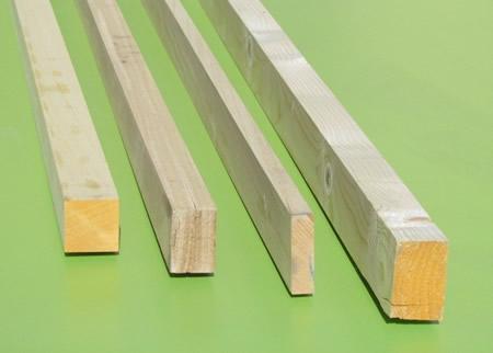 Precio listones de madera a medida