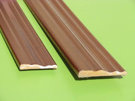 Molduras listones de madera liston mdf rechapados - Tableros de madera medidas y precios ...