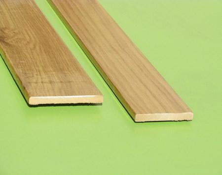 Molduras listones de madera liston mdf rechapados - Precio listones de madera ...