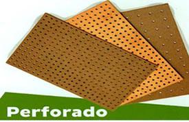 Tableros de Madera Tablex Perforado